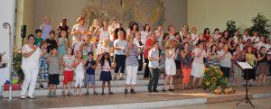 Teilnahme am Chorwettbewerb in Aarau