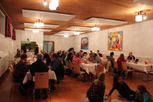 Herzlich willkommen zum Pfarreiabend: Samstag, 2. Februar / ab 18.00 Uhr
