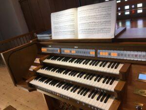 «Orgelsanierung 2020» – Einweihung der erweiterten und sanierten Orgel der Katholischen Kirche Gelterkinden mit einem Festkonzert zur Orgelweihe